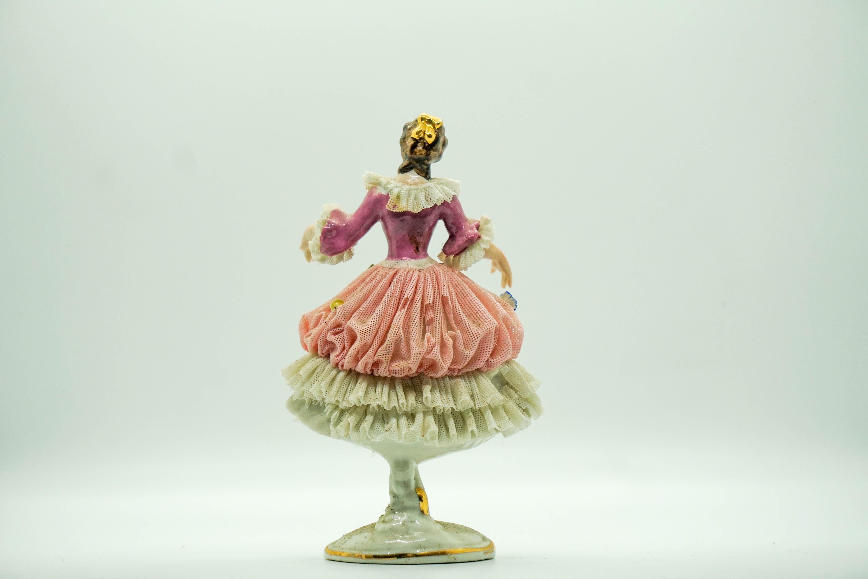 Porcelain Doll w/ Knit Dress