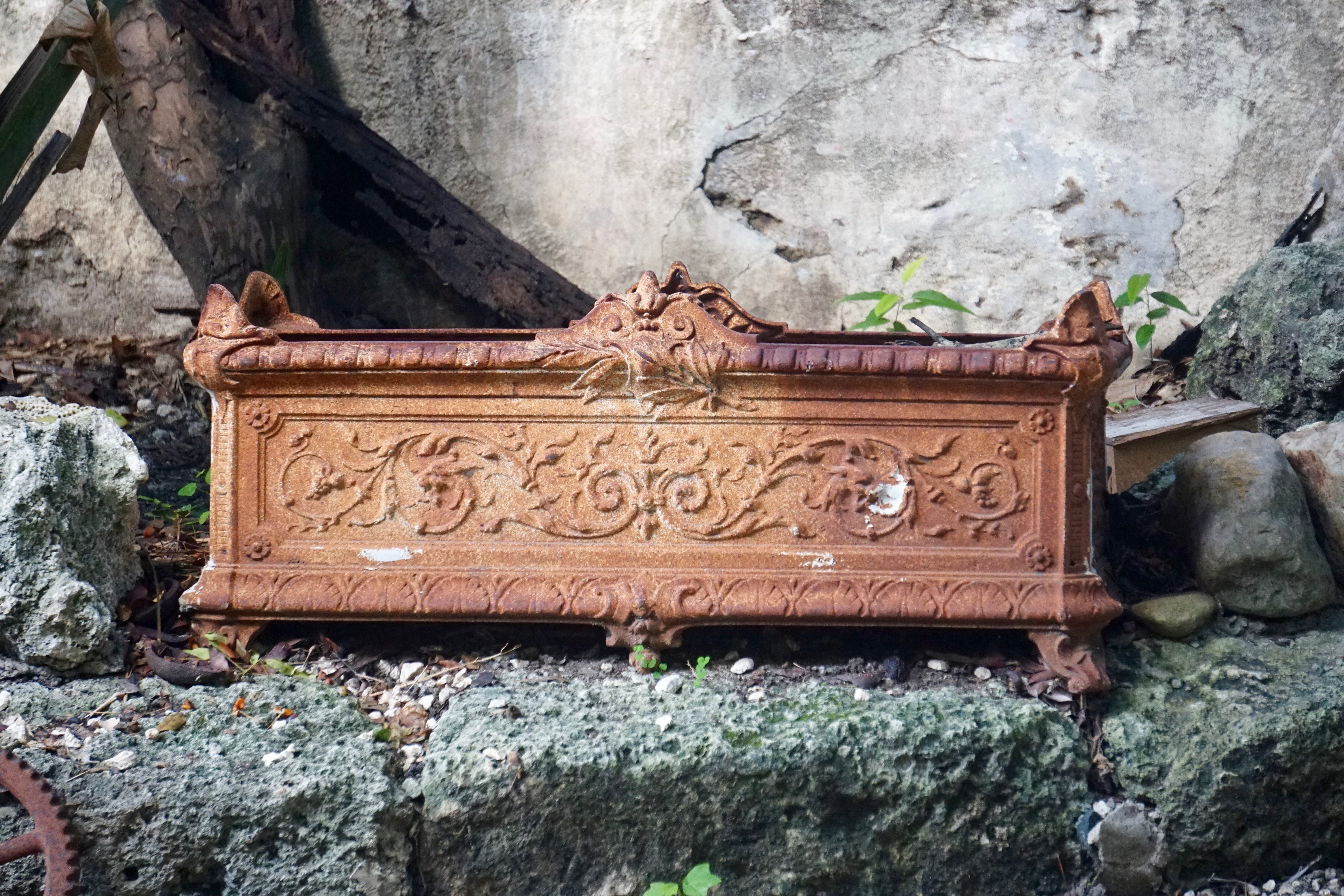 Victorian Cast Iron Planter