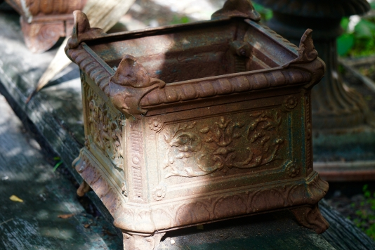 Decorative Cast Iron Planter
