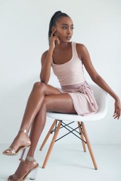 Seafrina Wrap Skirt