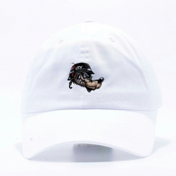 Lone Wolf Dad Hat