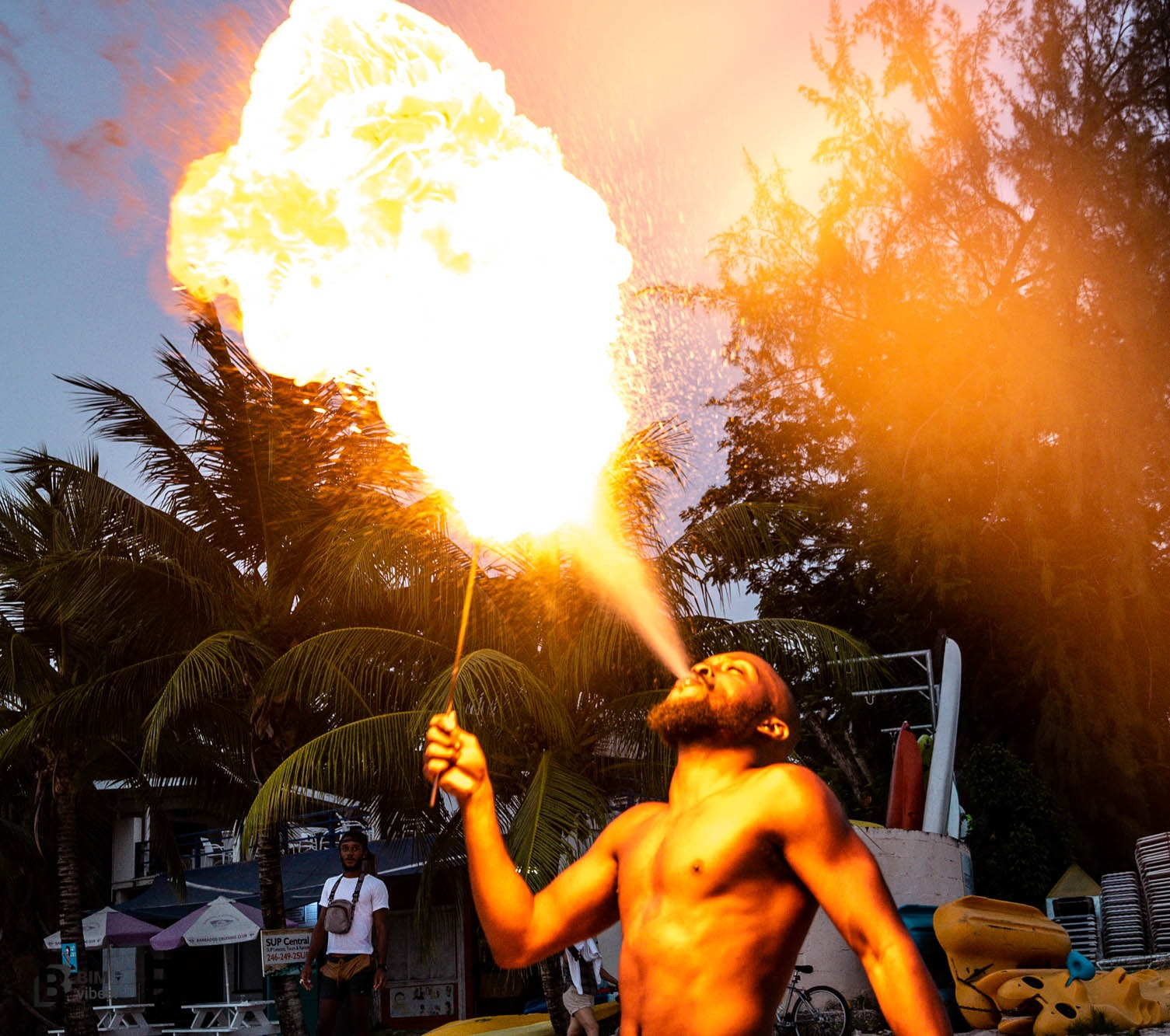 I will provide a Breathtaking Fire Entertainer for your Event/Party